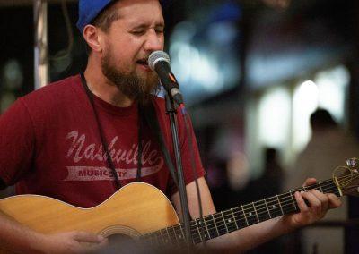 Alex Leggett live at Espresso Post. Photo: Will Skol