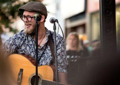 Benjamin Dakota Rogers live at Espresso Post. Photo: Will Skol
