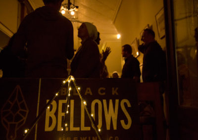 Black Bellows craft beer tasting at Espresso Post. Photo: Will Skol