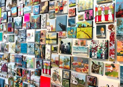 Great Wall Of Smalls at Butter Gallery. Photo: Andrea Rinaldo