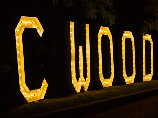 Photo Highlights – Illuminated Cwood at The Tremont