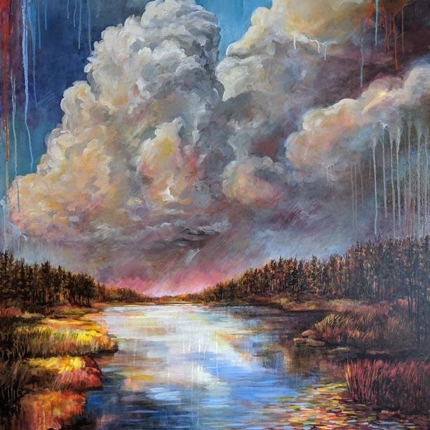 Jason Alexander painting