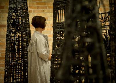 "Julia White's ""Water Shadows"" at the BMFA Arts Centre. Photo: Will Skol"