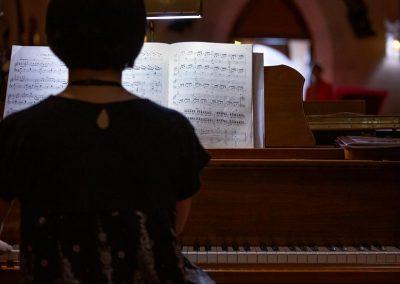 Keiko Yoden-Koepfer at All Saints' Anglican Church. Photo: Will Skol