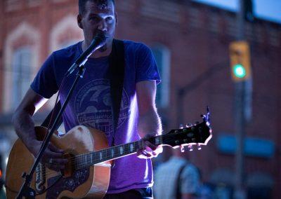 Mark O'Grady live at Century 21. Photo: Will Skol