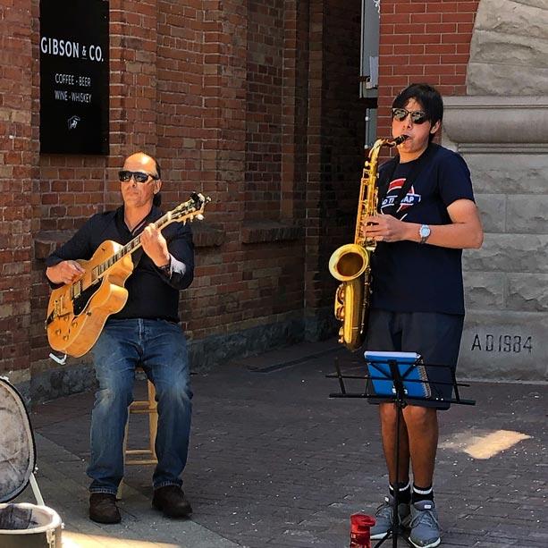 The Matthew & Richard Jazz Duo