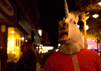 Unicorn sighting on Hurontario Street. Photo: Will Skol